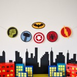 Superhero Birthday Party Crafts