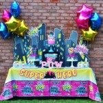 Superhero Birthday Party for Girl