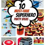 Superhero Birthday Party Idea