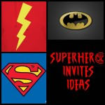 Superhero Birthday Party Invitation Ideas