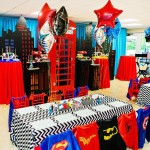 Superhero for Birthday Party