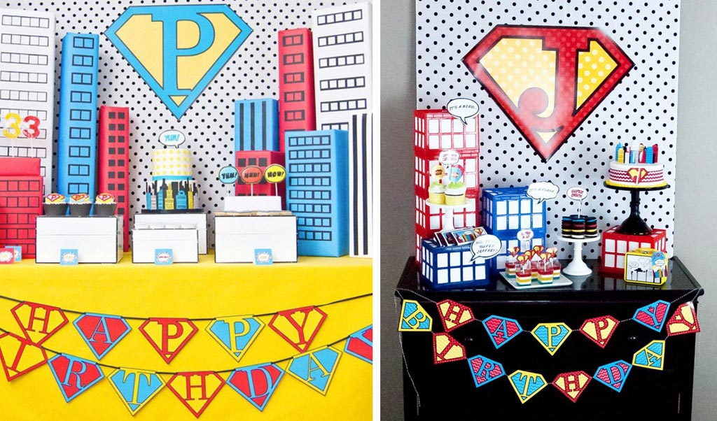 Lego Marvel Superheroes Birthday Party Supplies | Home Party Ideas