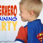 Superhero Training Camp Birthday Party