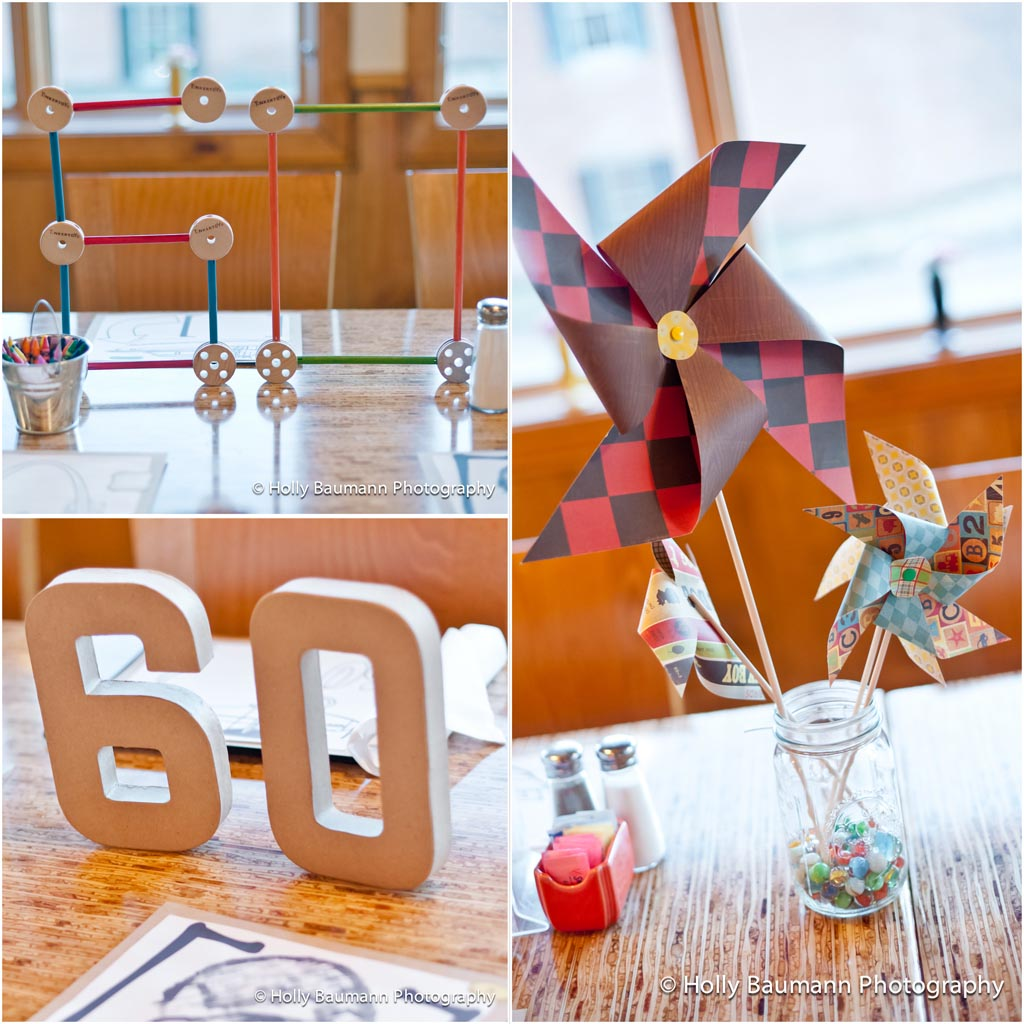 Surprise 60th birthday party home party ideas for 60th birthday decoration