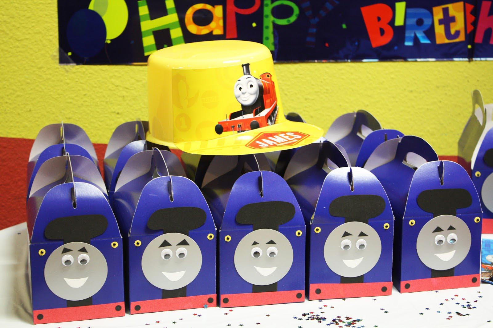 Thomas the Train Birthday Party Pictures