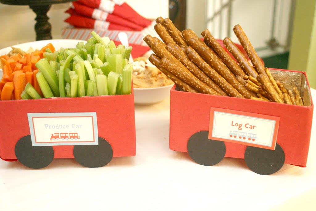 Train Birthday Party Food Ideas