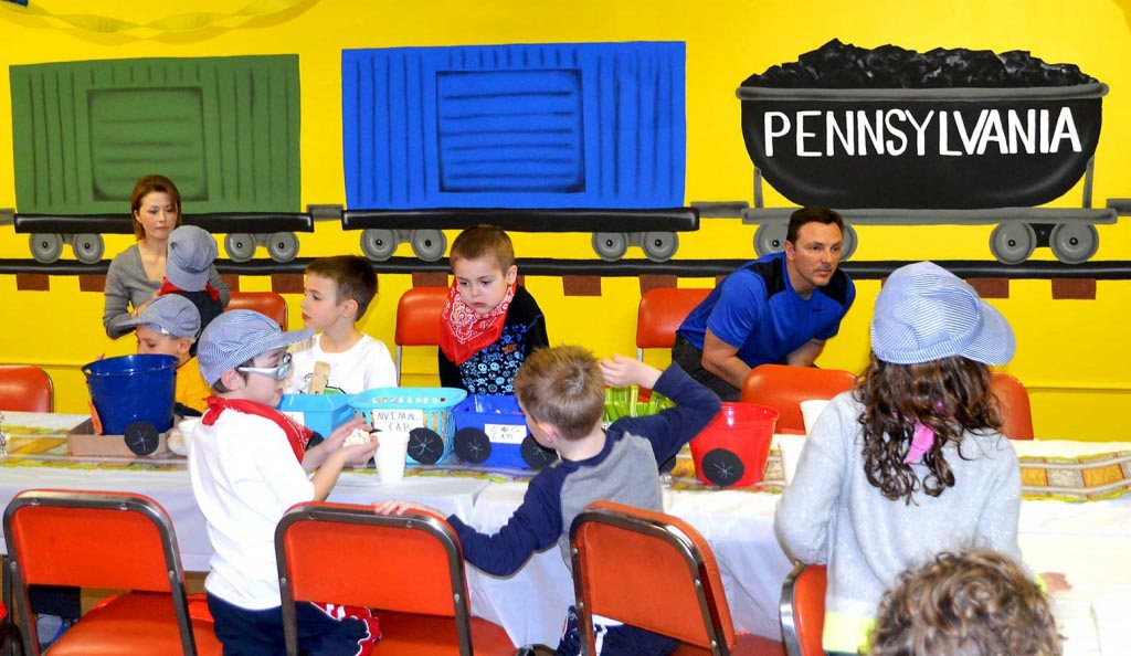 Train Birthday Party Ideas for Toddlers