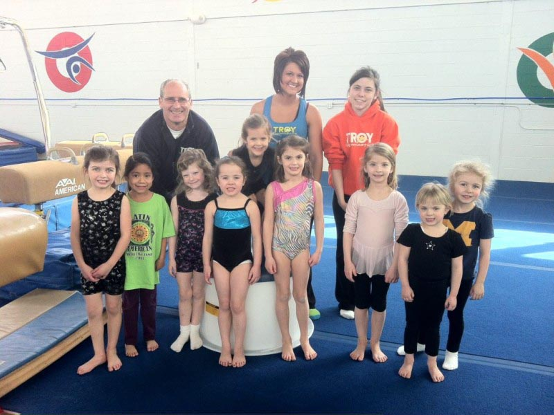 Troy Gymnastics Birthday Party