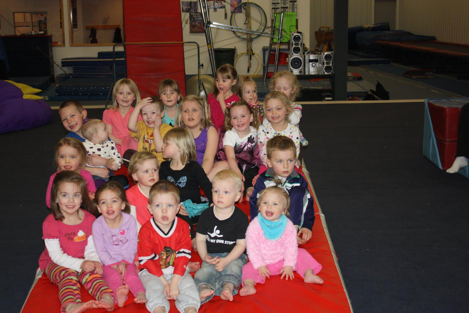 Twin Ports Gymnastics Birthday Party