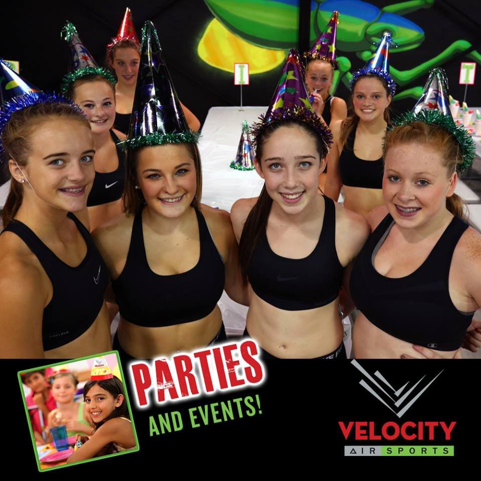 Velocity Sports Birthday Parties