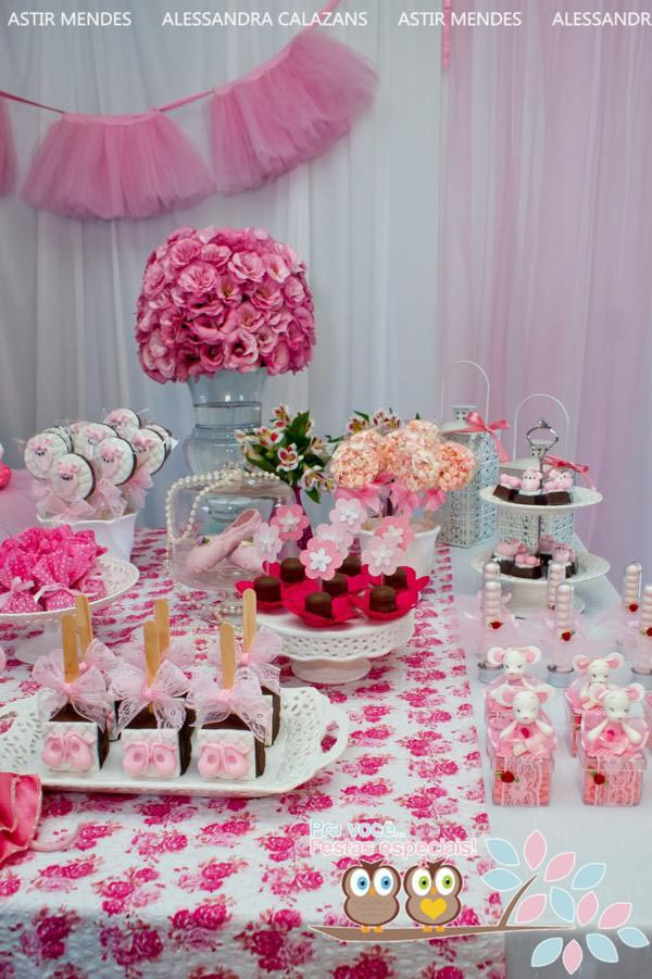 Angelina Ballerina Birthday Party Ideas