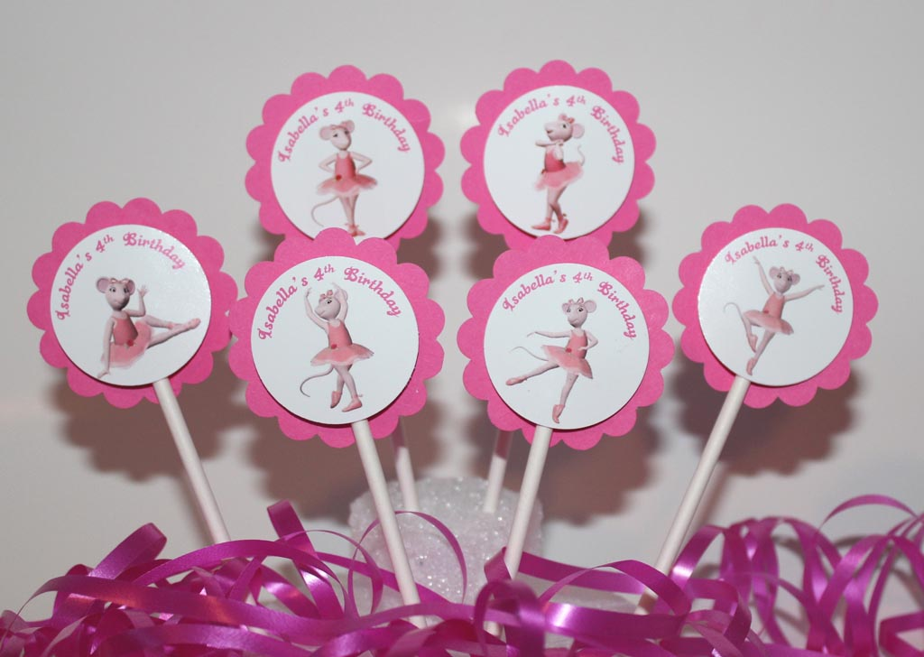 Angelina Ballerina Birthday Party