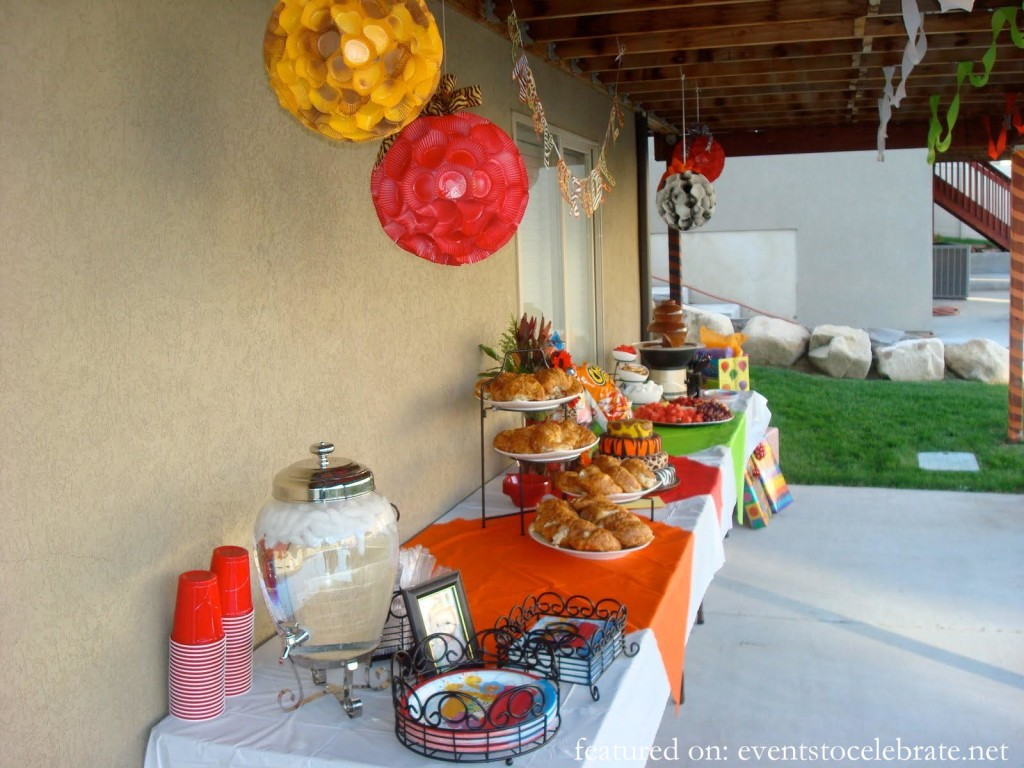 Animal Safari Birthday Party Ideas