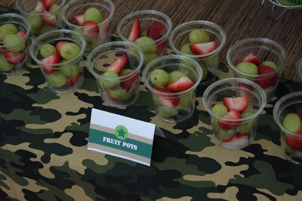 Army Birthday Party Ideas and Photos