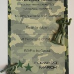 Army Birthday Party Invitations Free Printable