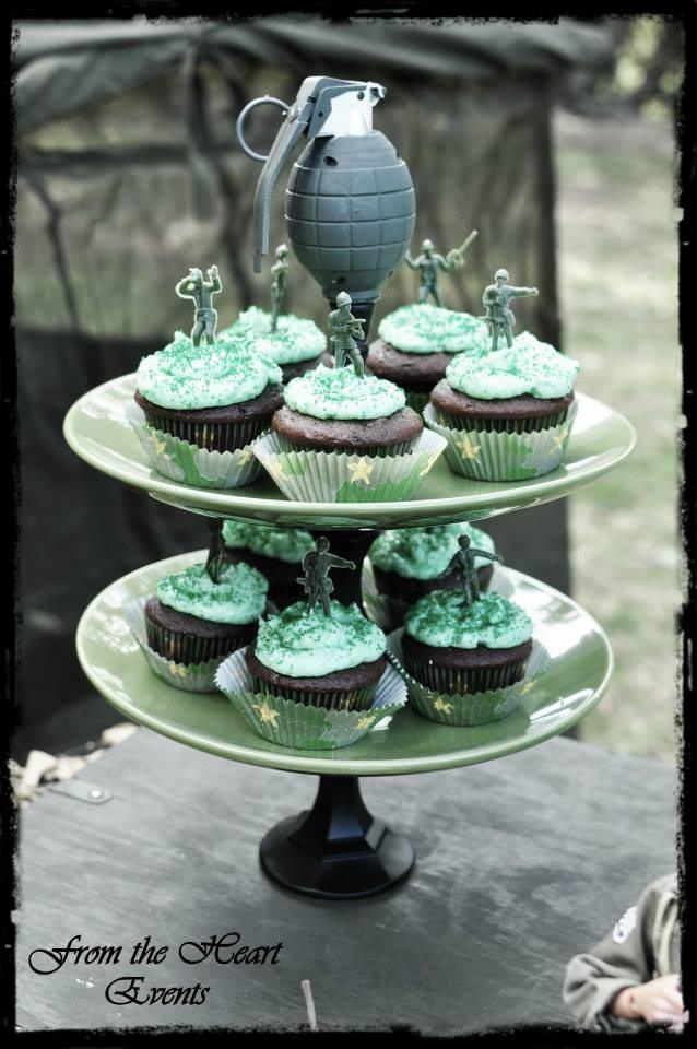 Army Man Birthday Party