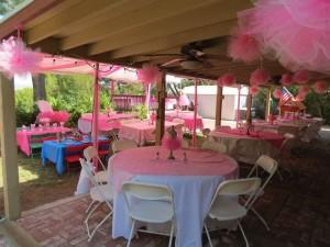 Ballerina 1st Birthday Party Decorations