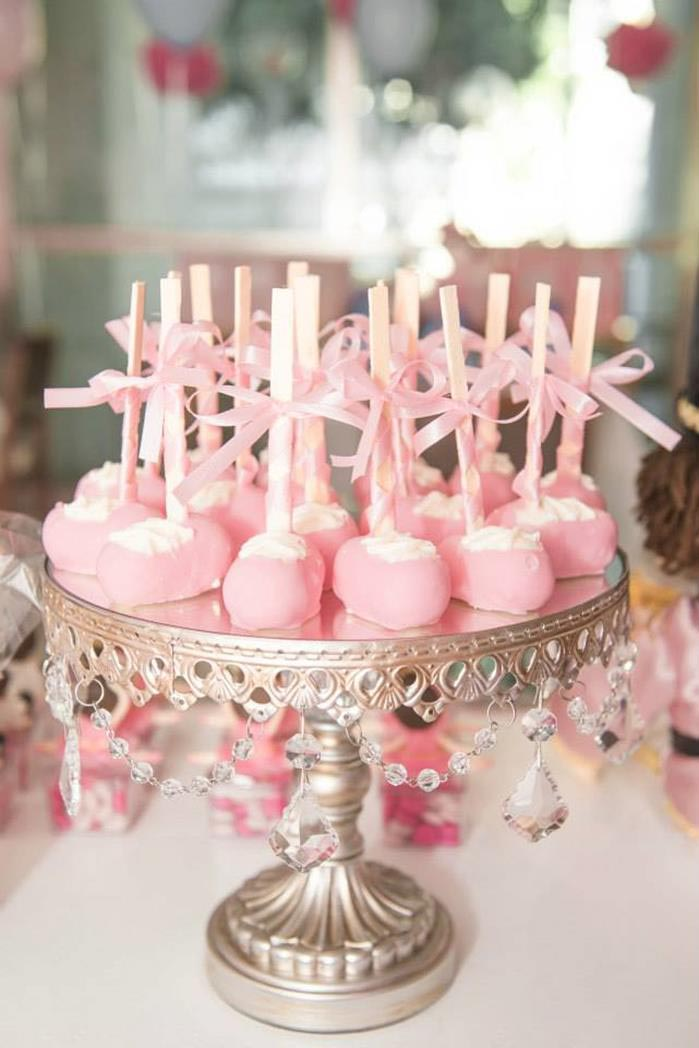 Ballerina 1st Birthday Party