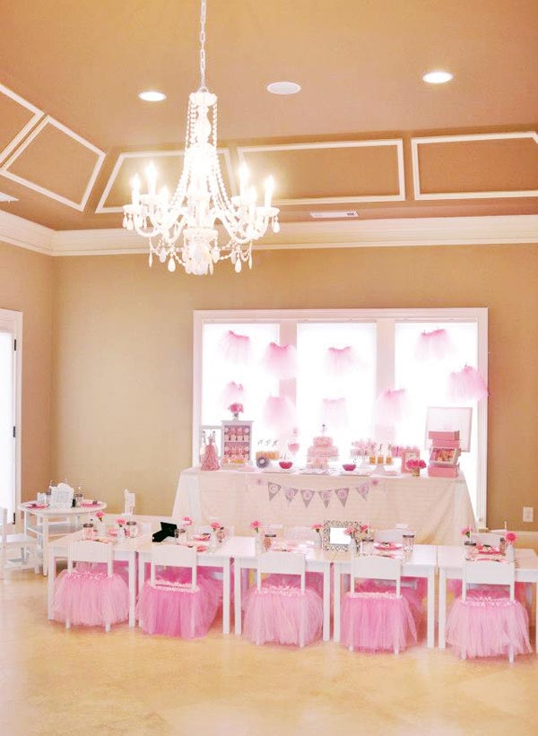 Ballerina Birthday Party Decorations