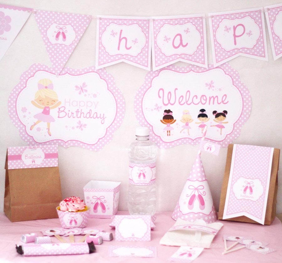 Ballerina Birthday Party Ideas