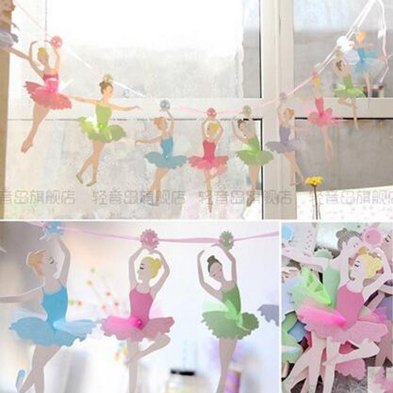 Ballerina decorations birthday party home party ideas for Ballerina party decoration ideas