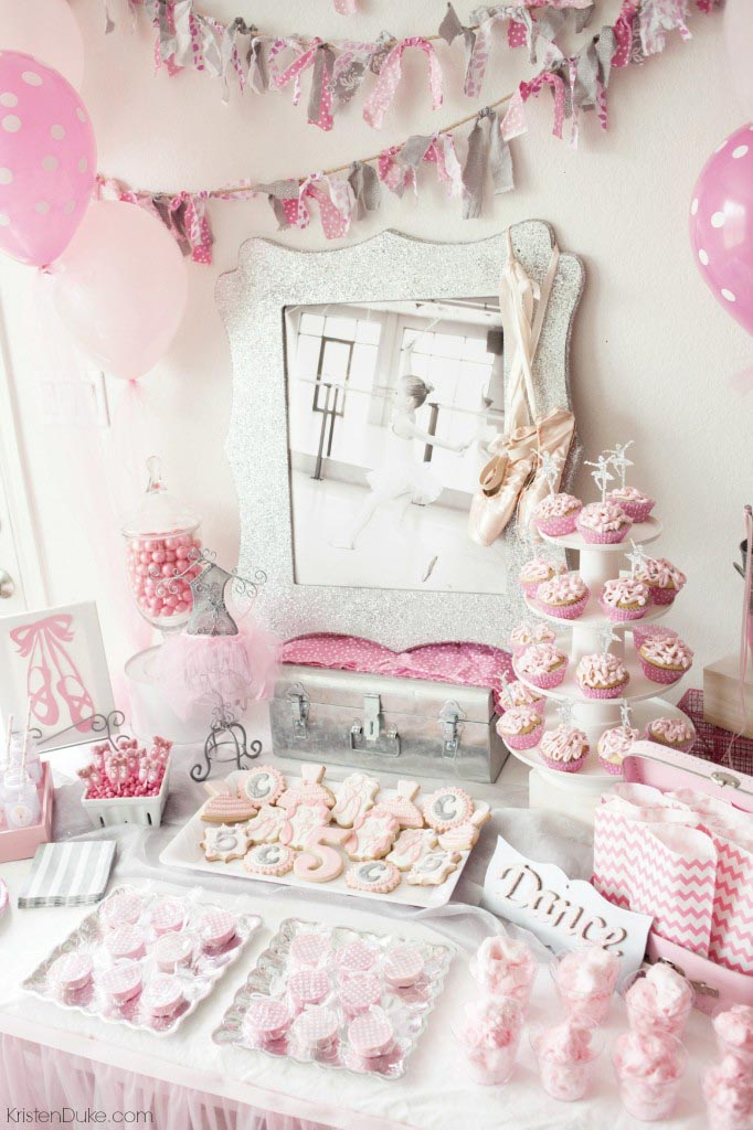 Ballerina Themed Birthday Party Ideas