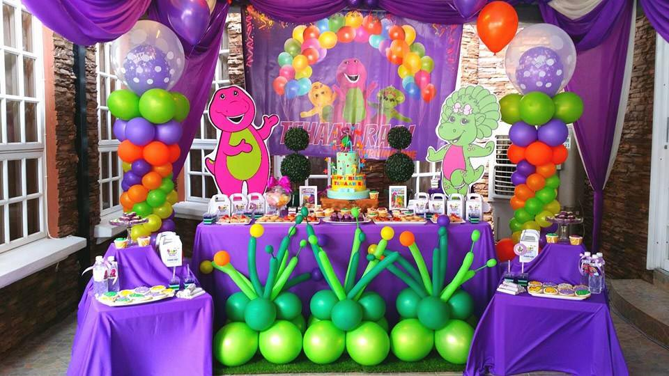 Barney Birthday Party Theme