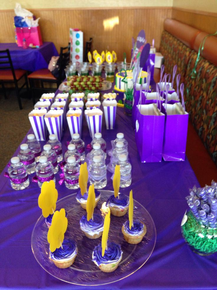 Barney Themed Birthday Party Ideas
