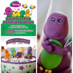 Barney Themed Birthday Party Supplies