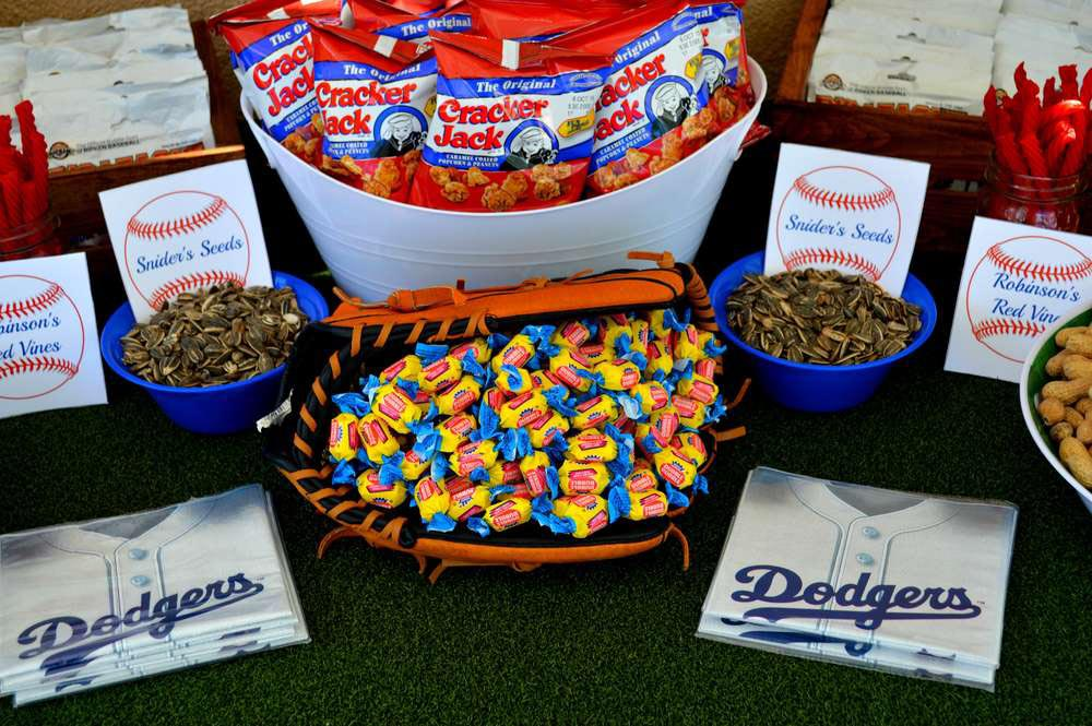 Baseball 1st Birthday Party Ideas