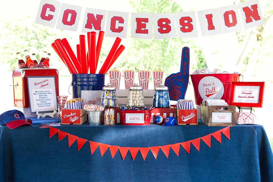 Baseball Birthday Party Decorations  Home Party Ideas