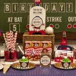 Baseball Birthday Party Favors