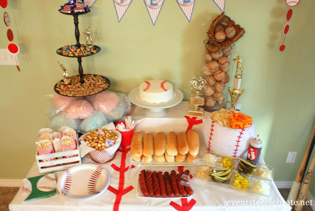 Baseball Birthday Party Food Ideas