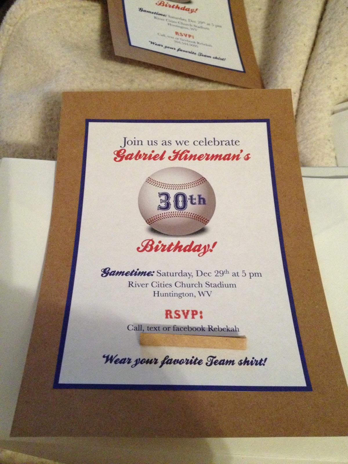 Baseball Birthday Party Invitations Free Printables