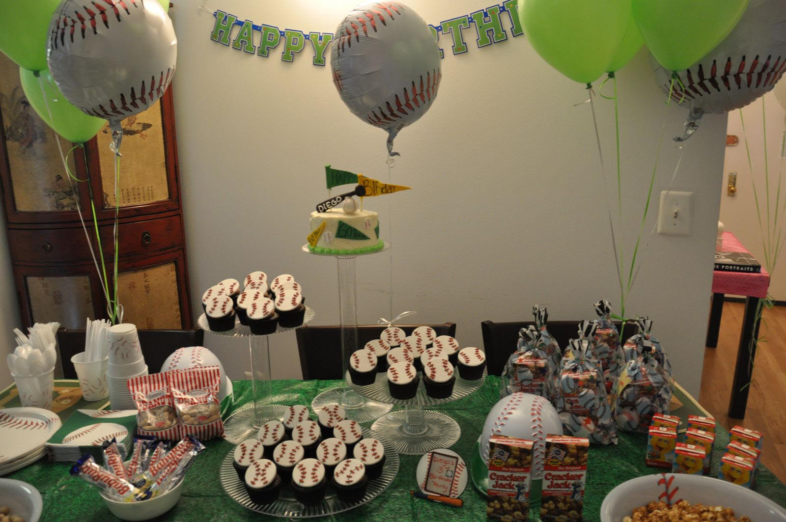 Baseball Birthday Party Theme