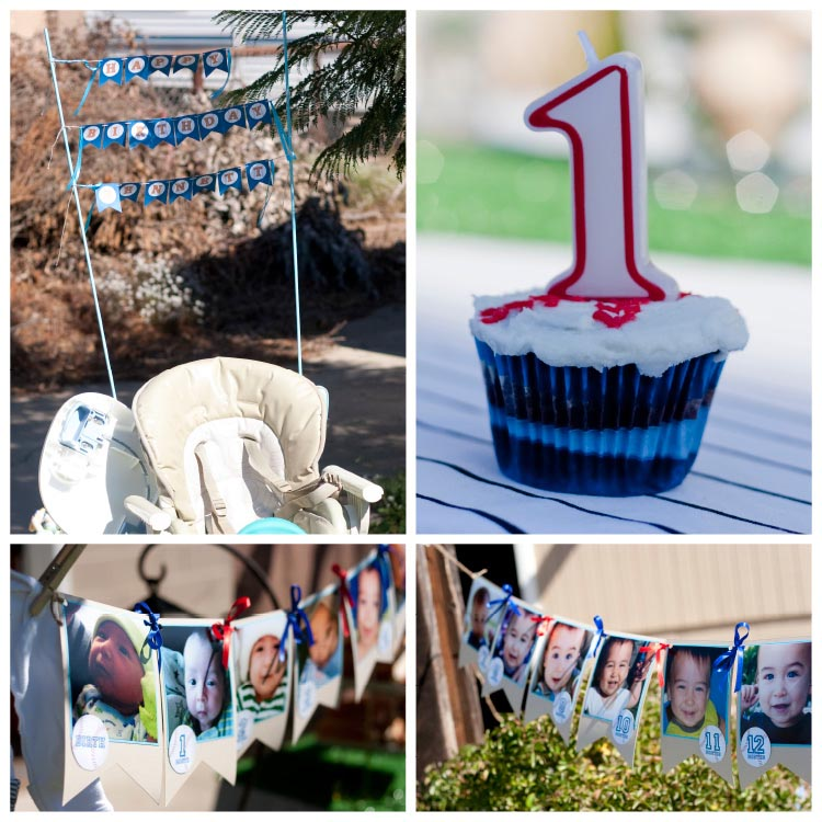 Baseball Themed 1st Birthday Party