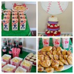 Baseball Themed Birthday Party Food