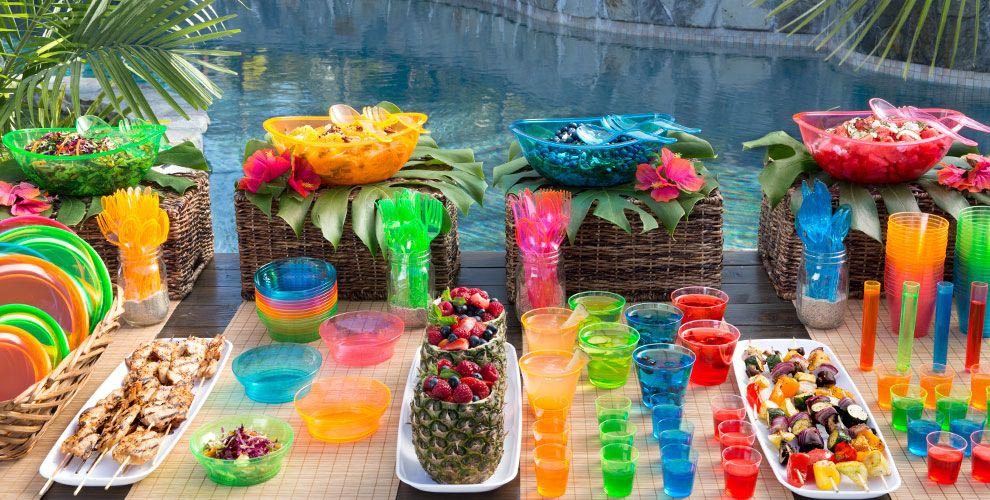 Beach Birthday Party Supplies