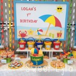 Beach Themed Birthday Parties