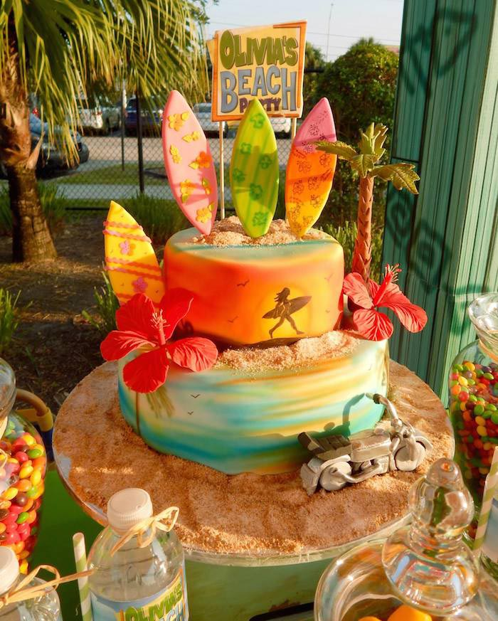 Beach Themed Birthday Party Ideas