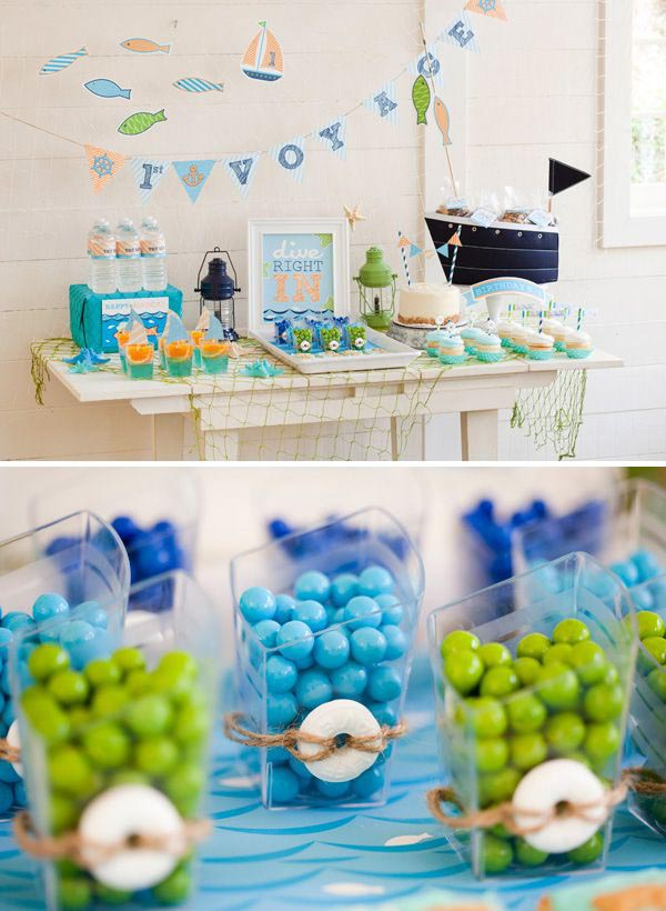 Beach Themed Graduation Party