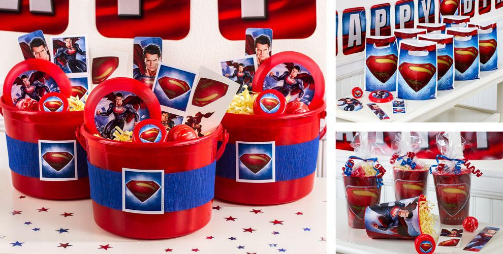 Birthday Party Supplies Superman