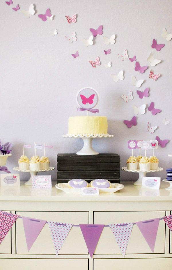 Butterflies Birthday Party Supplies