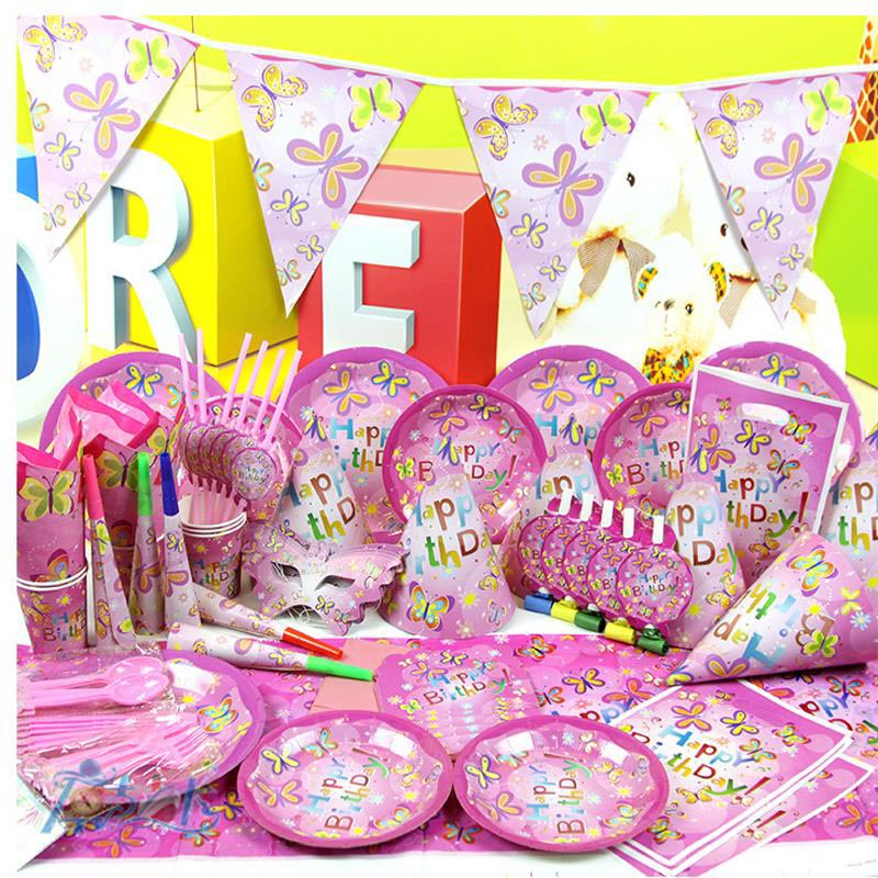 Butterfly Themed Birthday Party Supplies