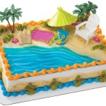 Cake Hawaiian Birthday Party