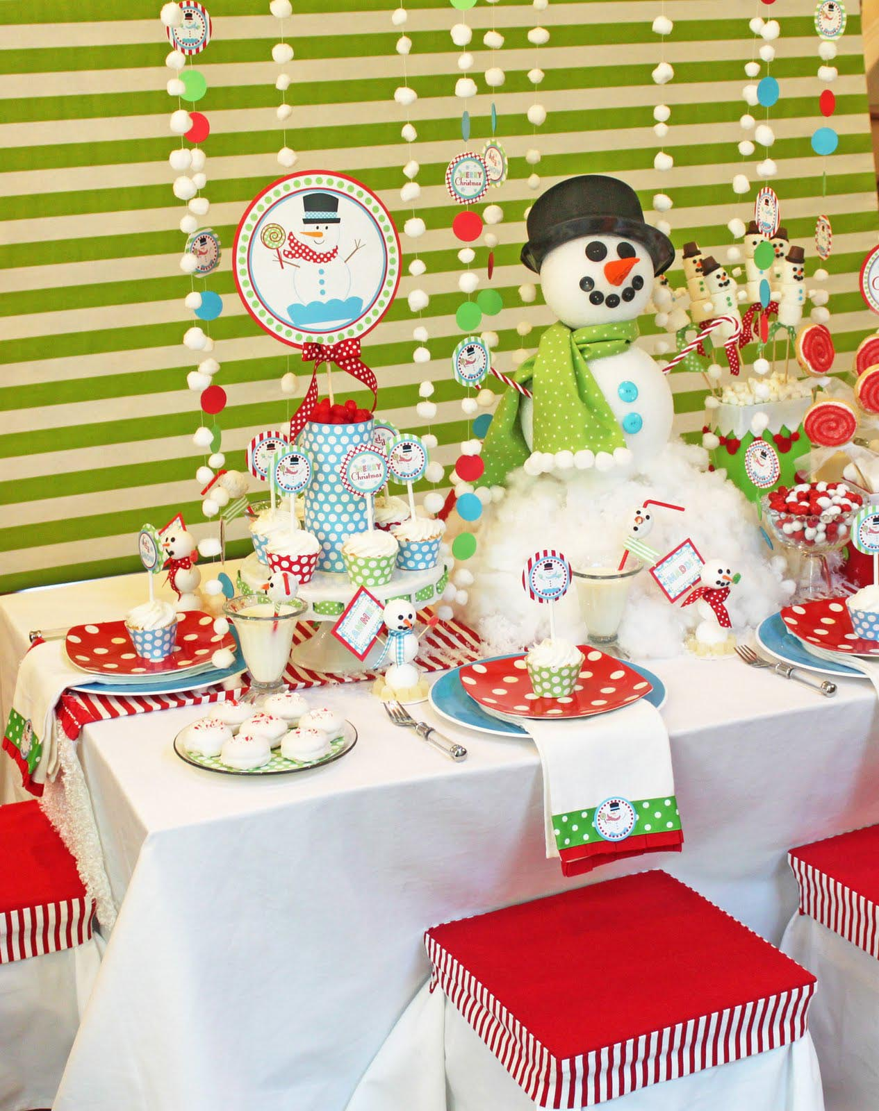 Christmas Kid Party Ideas Part - 29: Christmas Birthday Party Ideas For Adults
