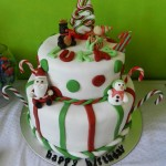 Christmas Themed Birthday Party