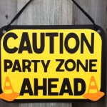 Construction Signs for Birthday Party