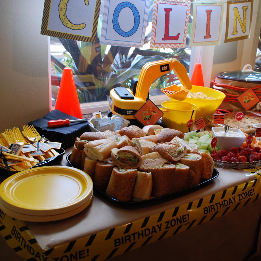 Construction Themed Birthday Parties