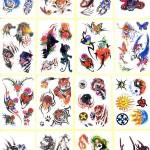 Cool Temporary Tattoo Designs